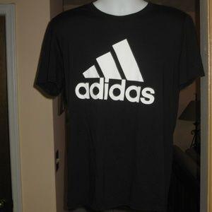 Adidas Men's Black Climalite T Shirt
